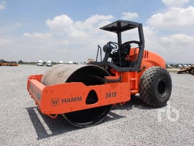2008 HAMM 3410 Vibratory Roller