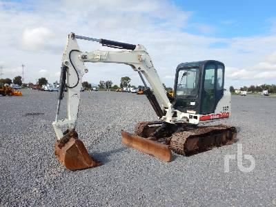 2013 BOBCAT MX337 Midi Excavator (5 - 9.9 Tons)