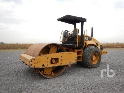 2007 CATERPILLAR CS563E Vibratory Roller
