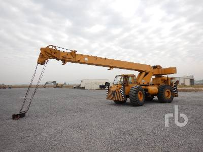GROVE RT58D INOPERABLE Grúa Todo Terreno Rough Terrain Crane