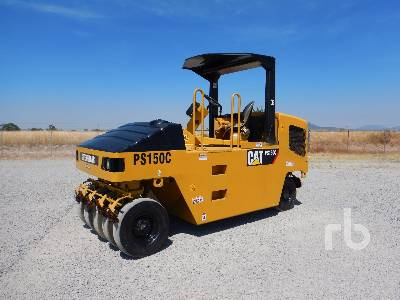 2007 CATERPILLAR PS150C 9 Wheel Pneumatic Roller