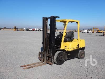 2010 HYSTER H30TX98 6300 Lb Forklift