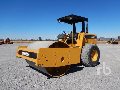 1995 CATERPILLAR CS583 Vibratory Roller