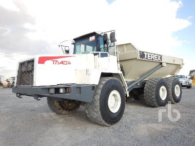 2005 TEREX TA40 6x6 Articulated Dump Truck