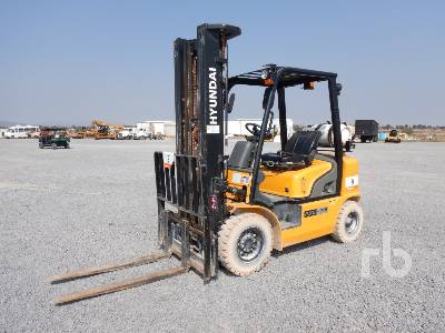 2018 HYUNDAI 25G7M 3700 Lb Forklift