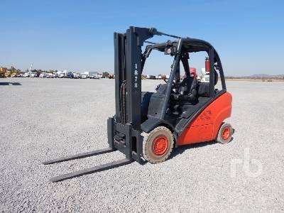2010 LINDE H35D 7000 Lb Forklift