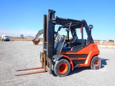 2010 LINDE H70D01 15400 Lb Forklift