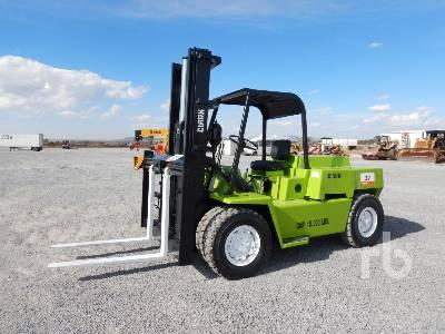 CLARK C500Y100 7600 Lb Forklift