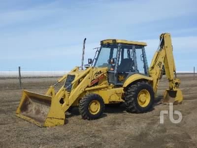 1995 JCB 214 Series 2 4x4 Loader Backhoe
