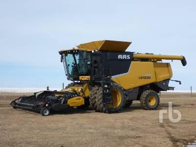 2013 CLAAS 670 Combine