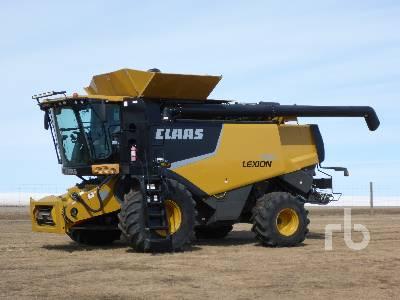 2012 CLAAS 750 Combine