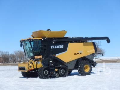 2012 CLAAS 760TT Combine