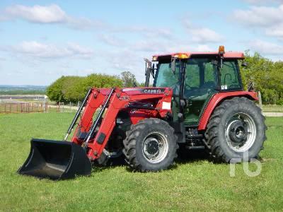 2010 CASE IH FARMALL 105U MFWD Tractor