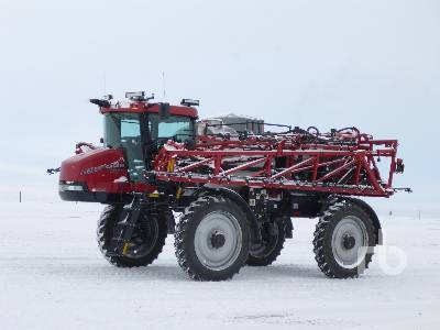 2011 CASE IH PATRIOT 4420 120 Ft High Clearance Sprayer