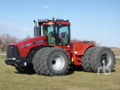 2010 CASE IH 535HD Steiger 4WD Tractor