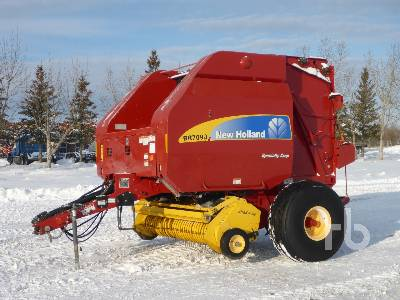2011 NEW HOLLAND BR7090 Specialty Crop Round Baler