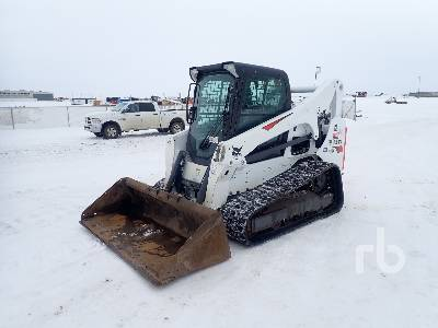 2018 BOBCAT T740 2 Spd Multi Terrain Loader