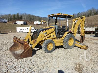 2002 CATERPILLAR 416D 4x4 Loader Backhoe