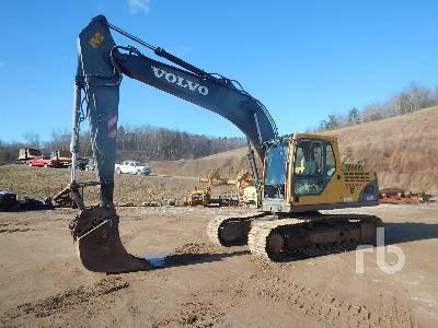 2005 VOLVO EC160BLC Hydraulic Excavator