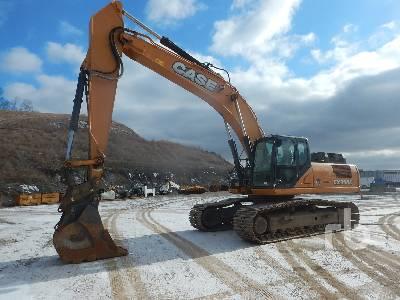 2012 CASE CX350C Hydraulic Excavator