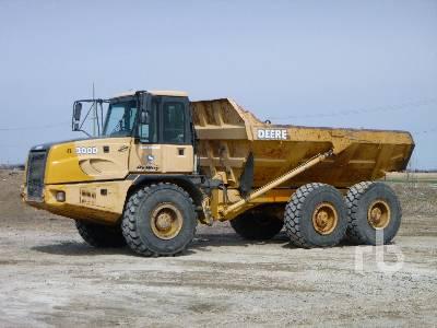 2004 JOHN DEERE 300D 6x6 Articulated Dump Truck