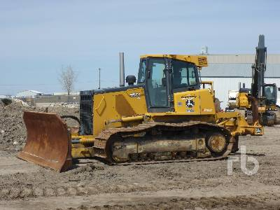 2012 JOHN DEERE 850J WLT Crawler Tractor
