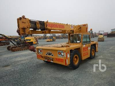 1989 GROVE 8 Ton All Terrain Crane