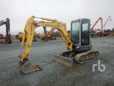 2011 NEW HOLLAND E35B Mini Excavator (1 - 4.9 Tons)