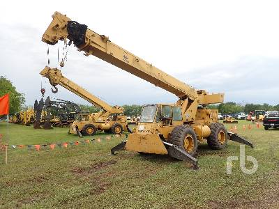 1981 GROVE RT58B 18 Ton 4x4x4 Rough Terrain Crane