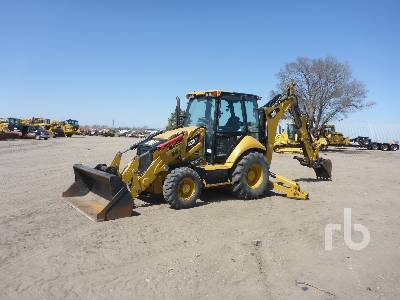 2012 CAT 420F IT Loader Backhoe
