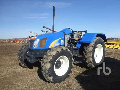 2010 NEW HOLLAND T5070 MFWD Tractor