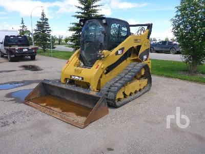 2012 CATERPILLAR 299C XPS 2 Spd High Flow Compact Track Loader