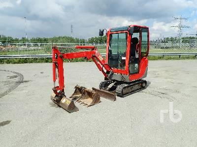 2014 YANMAR SV17 Mini Excavator (1 - 4.9 Tons)