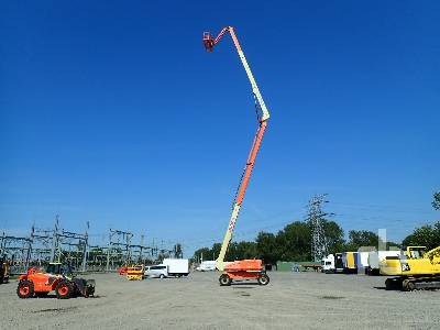 2008 JLG 1250AJP 4x4x4 Articulated Boom Lift