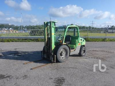 2007 MANITOU MH25-4 T BUGGIE Rough Terrain Forklift