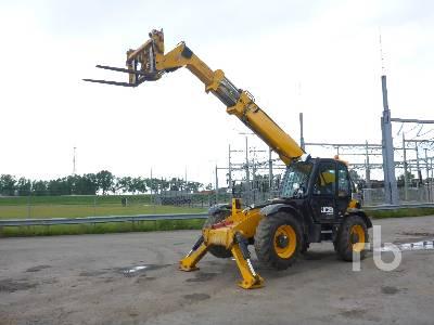2017 JCB 540-140 4x4x4 Telescopic Forklift