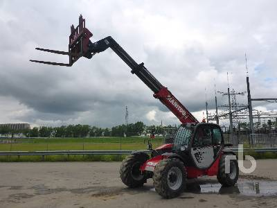 2017 MANITOU MT932 4x4x4 Telescopic Forklift