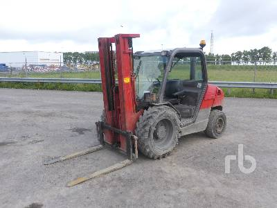 2005 MANITOU MH25-4 T BUGGIE Rough Terrain Forklift
