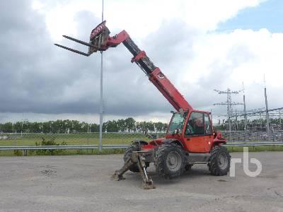 2008 MANITOU MT1235S 4x4x4 Telescopic Forklift