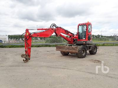 2011 KOMATSU PW98MR-6 Mobile Excavator