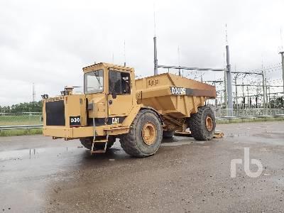 1987 CATERPILLAR D30C Articulated Dump Truck
