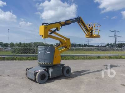 2008 HAULOTTE HA12IP Electric Articulated Boom Lift