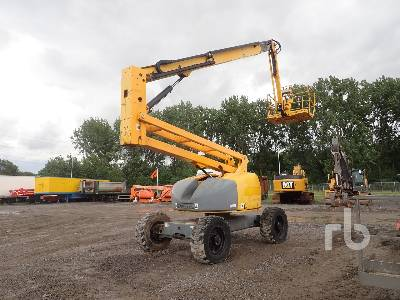 2007 HAULOTTE HA20PX Articulated Boom Lift