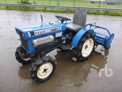ISEKI TX1510 4WD Utility Tractor