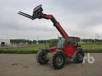 2005 MANITOU MLT630 Telescopic Forklift