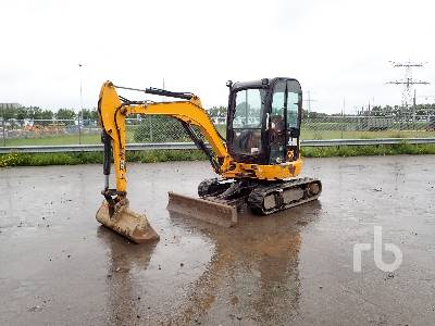 2013 JCB 8030 Mini Excavator (1 - 4.9 Tons)