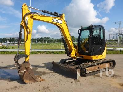 2010 JCB 8085 Midi Excavator (5 - 9.9 Tons)