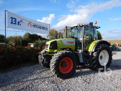 2007 CLAAS ARES 816 RZ 4WD Agricultural Tractor MFWD Tractor