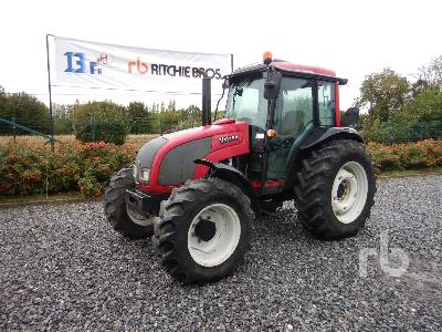 2008 VALTRA A92 4WD Agricultural Tractor MFWD Tractor