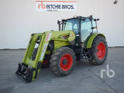 2013 CLAAS AXOS 330 4WD Agricultural Tractor MFWD Tractor